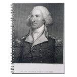 El retrato de general importante Philip Schuyler,  Spiral Notebooks