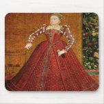 """El retrato de """"Hampden"""" de Elizabeth I de Inglater Alfombrillas De Raton"""