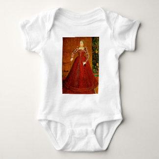 El retrato de Hampden de Elizabeth I de Inglaterra Body Para Bebé