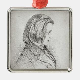 El retrato de Johanes Brahms envejeció veinte, 185 Ornamentos Para Reyes Magos