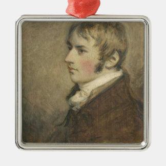 El retrato de John Constable (1776-1837) envejeció Ornamento Para Arbol De Navidad
