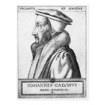 El retrato de Juan Calvino envejeció 53, 1564 Postal
