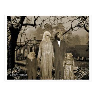 El retrato de la familia postal
