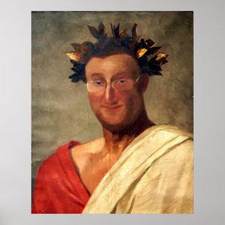 El retrato de San Pablo - saludo César Poster