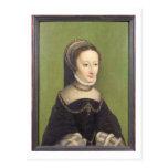El retrato de una señora, dijo ser el d'Albret de Postal