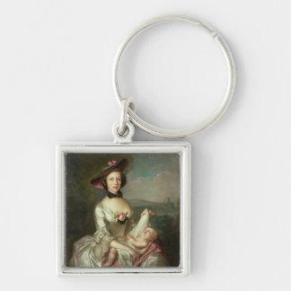 El retrato de una señora, dijo ser Elizabeth, espo Llaveros Personalizados