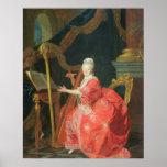 El retrato de una señora, dijo ser señora Adelaide Póster