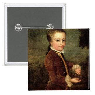 El retrato de Wolfgang Amadeus Mozart envejeció Pins