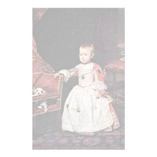 El retrato del infante Philip prospera Papeleria Personalizada