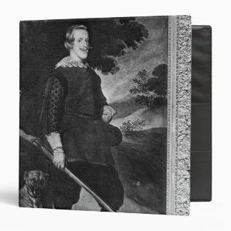 """El retrato del rey de Philip IV de España tiene Carpeta 1 1/2"""""""