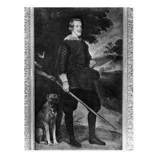 El retrato del rey de Philip IV de España tiene Postales