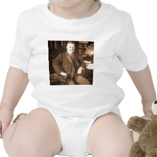 El retrato del vintage de Teddy Roosevelt de los a