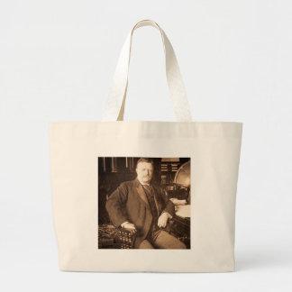 El retrato del vintage de Teddy Roosevelt de los a Bolsas