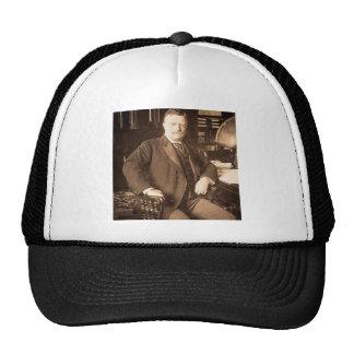 El retrato del vintage de Teddy Roosevelt de los a Gorro