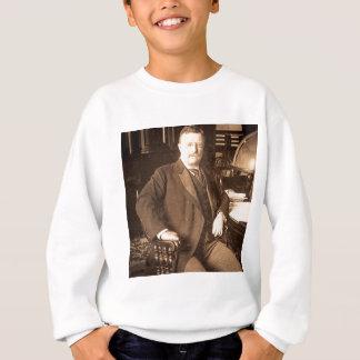 El retrato del vintage de Teddy Roosevelt de los Remera