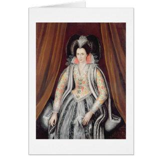 El retrato dijo ser Susan, señora Grey Tarjeta De Felicitación