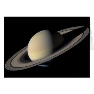 El retrato más grande de Saturn Tarjeta De Felicitación