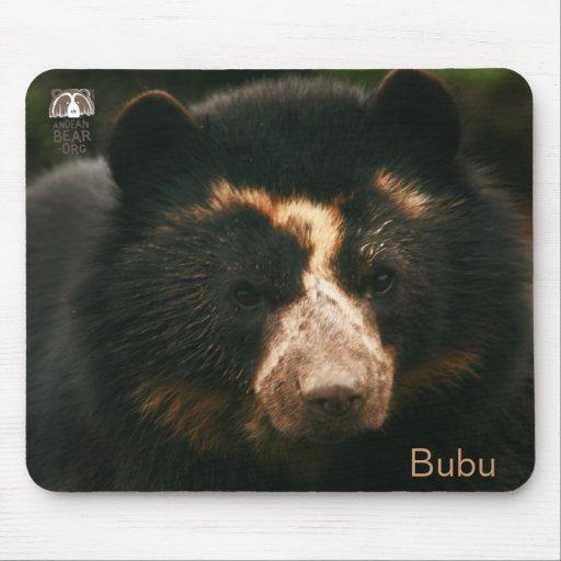 El retrato Mousepad de Bubu