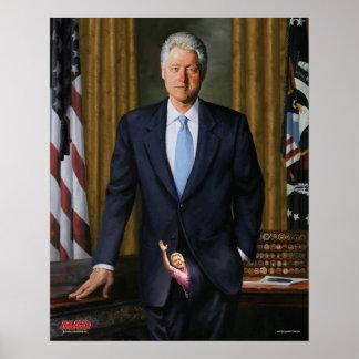El retrato oficial de la revista ENOJADA de Bill Póster