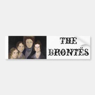 El retrato restaurado ~ del pilar de Brontës Pegatina Para Auto