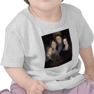 El retrato restaurado ~ del pilar de Brontës Camisetas