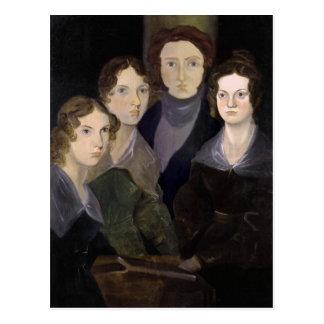 El retrato restaurado ~ del pilar de Brontës Postales