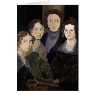 El retrato restaurado ~ del pilar de Brontës Tarjetón