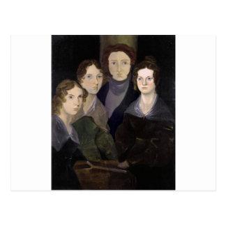 El retrato restaurado ~ del pilar de Brontës Postal