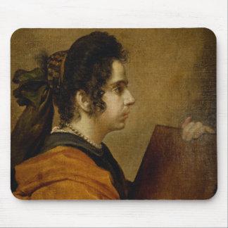 El retrato supuso ser Juana Pacheco como sibila Alfombrilla De Raton