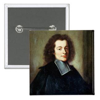 El retrato supuso ser Voltaire como hombre joven Pin Cuadrada 5 Cm
