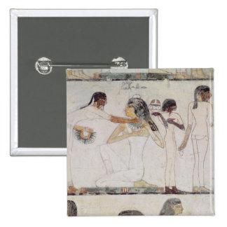 El retrete de mujeres nobles pin cuadrada 5 cm