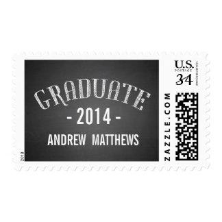 El retro 2014 sellos de la graduación