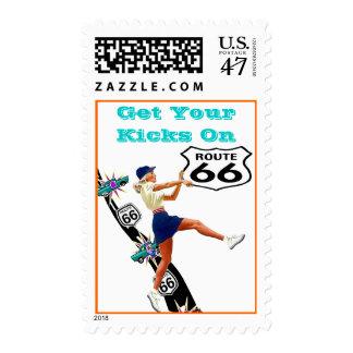 El retroceso retro de los retrocesos consigue sus timbres postales