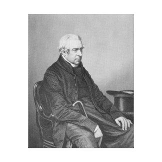 El Reverend honorable y adecuado adecuado Lona Envuelta Para Galerias