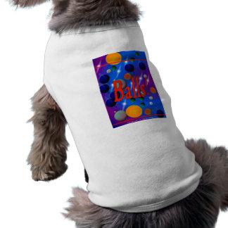 El REVESTIMIENTO de Lulu de ropa DE LUJO del masco Playera Sin Mangas Para Perro