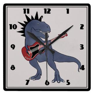 Él-Rex reloj de pared de la guitarra