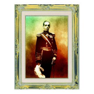 EL Rey Alfonso del arte pop XIII de Espana Postal