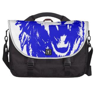 El rey azul Speaks del león Bolsas Para Portatil