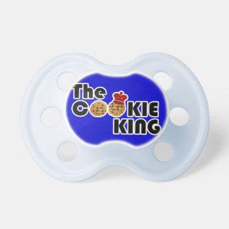 El rey Baby Pacifier de la galleta Chupetes Para Bebes