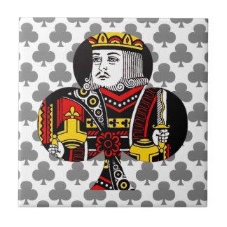 El rey de clubs azulejos ceramicos