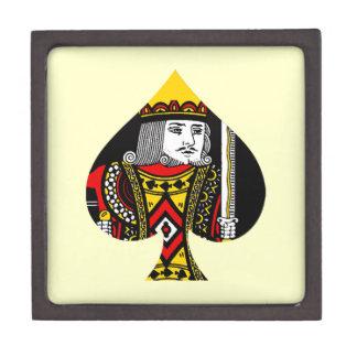 El rey de espadas cajas de recuerdo de calidad