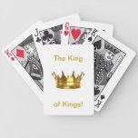 El rey de los reyes naipes cartas de juego