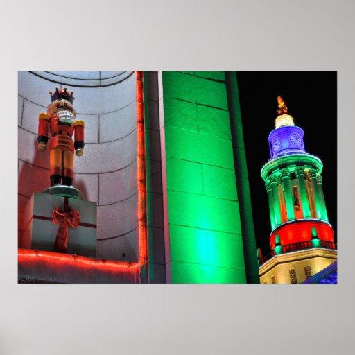El rey del cascanueces y la torre de reloj poster