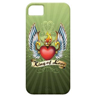 El rey del caso del iPhone 5 del amor iPhone 5 Carcasas