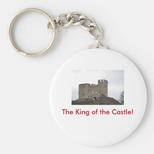 ¡El rey del castillo! Llavero Personalizado