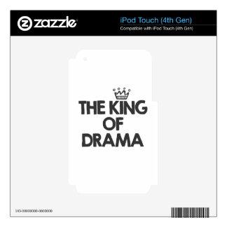 El rey del drama iPod touch 4G calcomanías