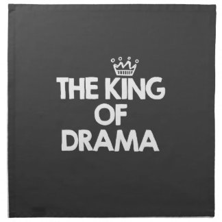 El rey del drama servilleta
