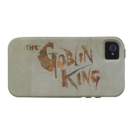 El rey del Goblin iPhone 4 Carcasa