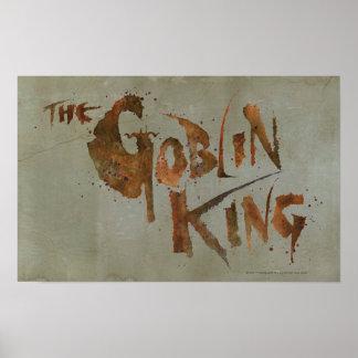 El rey del Goblin Poster