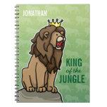 El rey del león de la selva, añade el nombre del n libros de apuntes